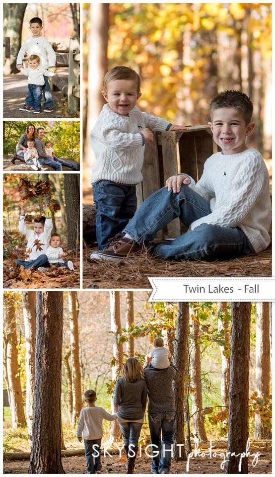 twin lakes fall