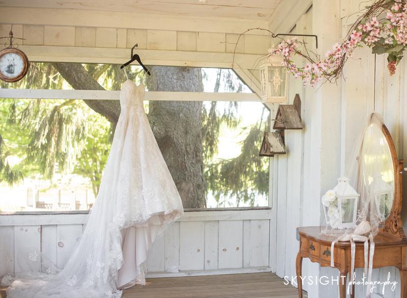 lingrow farms wedding gown