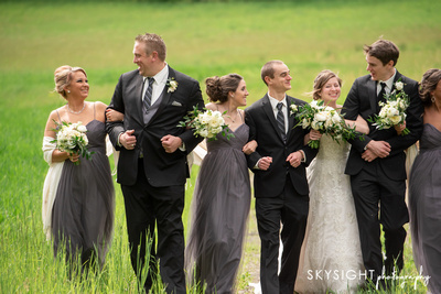 Pittsburgh bridal party portrait