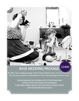 wedding base prices
